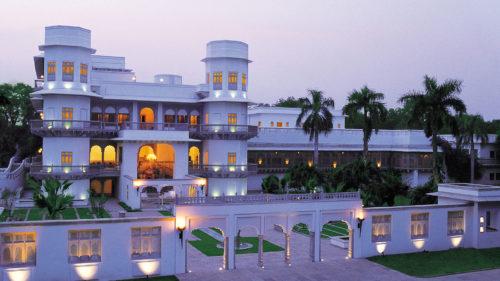 Taj Usha Kiran Palace at sunset