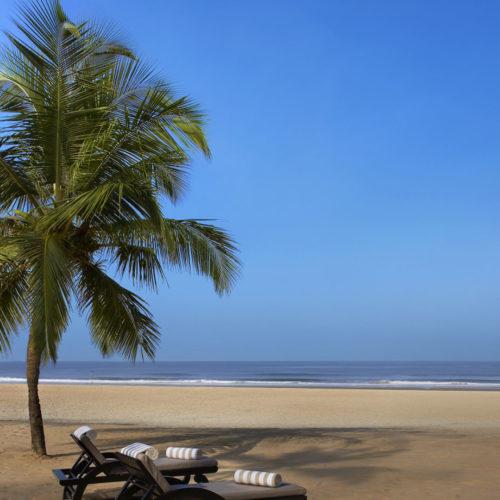 Beach at The Leela, Goa