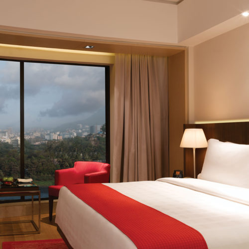 Trident Bandra Kurla bedroom view